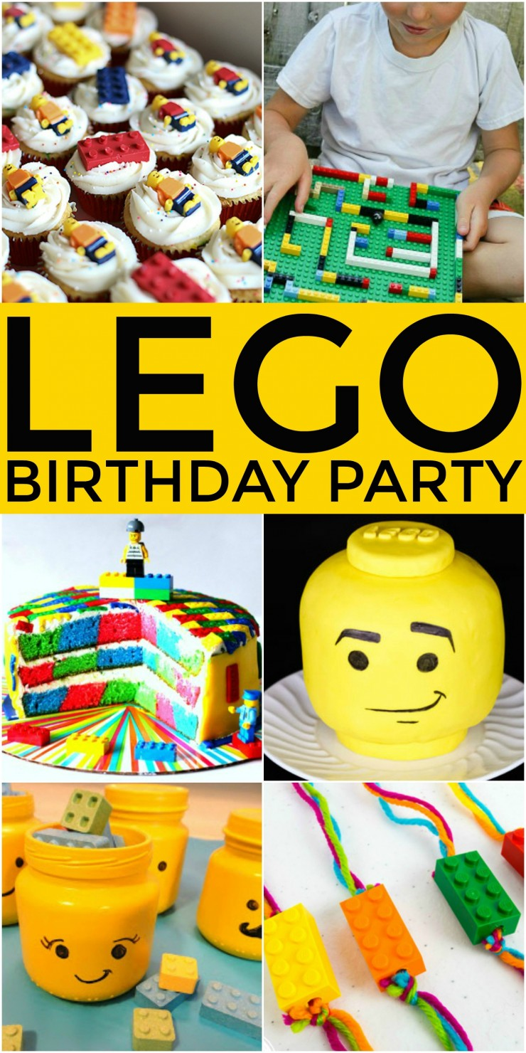 How to Throw the Ultimate LEGO Birthday Party to please any birthday boy or girl. All kids love building with Lego, and so a Lego themed birthday party is a natural choice. Check out these 25 ideas that will help you throw an amazing Lego themed party for boys or girls!