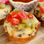 Loaded Cheeseburger Muffins