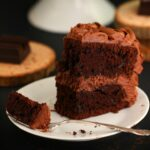Chocolate Cake with Chocolate Fortune Frosting