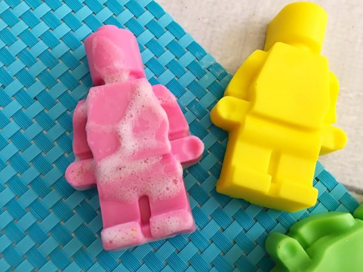 Lego Man Handmade Soap