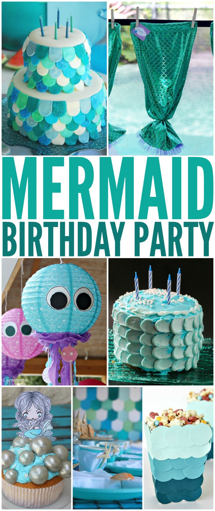 How To Throw The Ultimate Mermaid Birthday Party Please Any Girl Little Girls