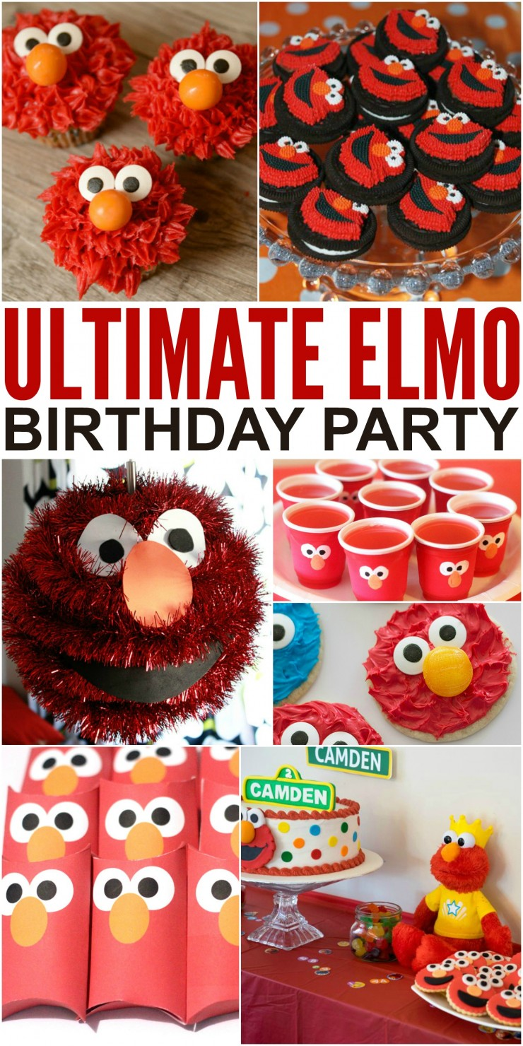 How To Throw The Ultimate Elmo Birthday Party Please Any Toddler On Their
