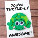 DIY Father's Day Turtle Card with Printable Template