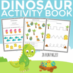 Free Printable Dinosaur Activity Book