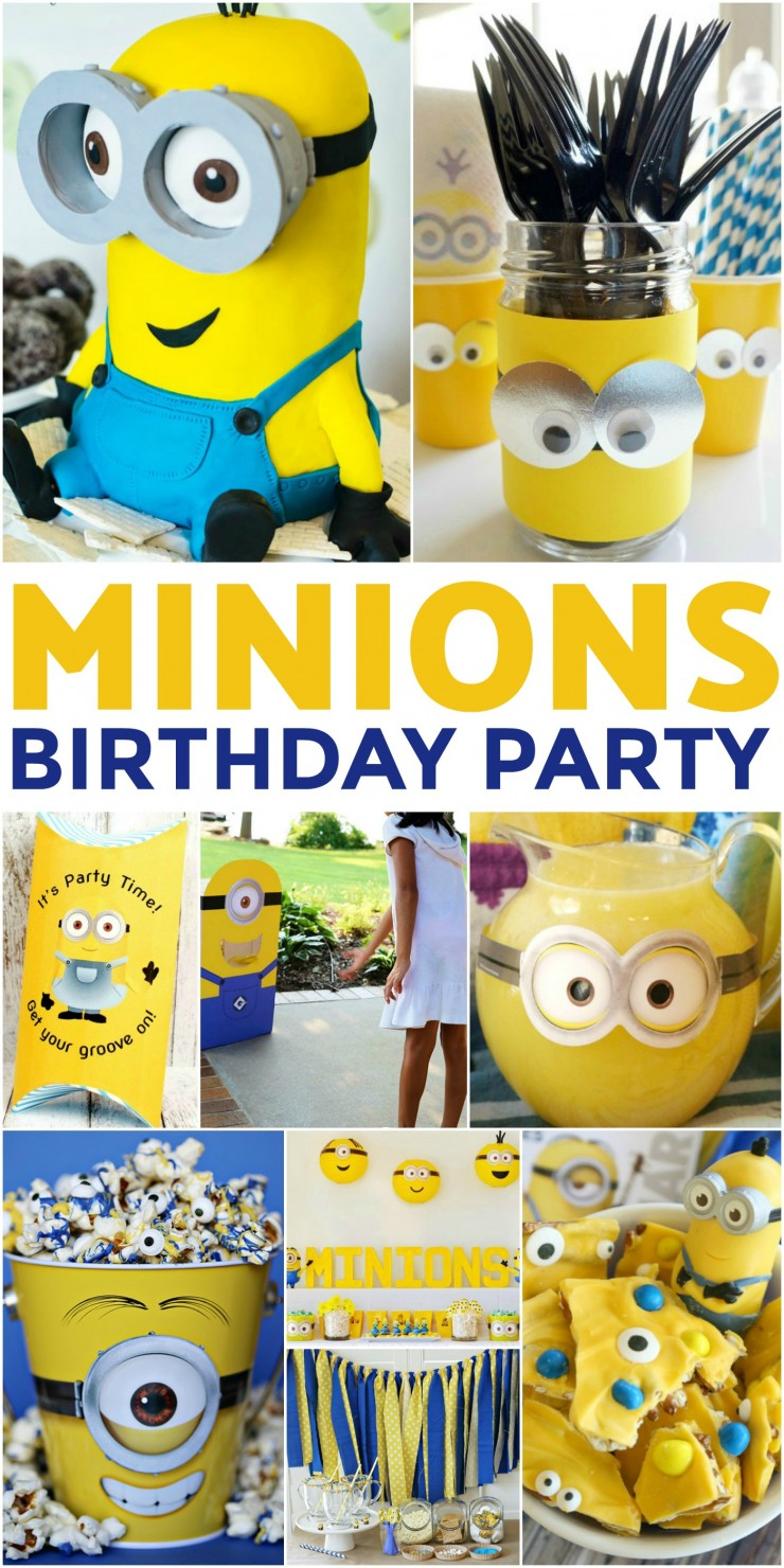 How to Throw the Ultimate Minion Birthday Party to please any child on their birthday. A Minion themed birthday party is a natural choice for any fan of the Despicable Me series. Check out these 25 ideas that will help you throw an amazing Minion themed party for little fans of Despicable Me!