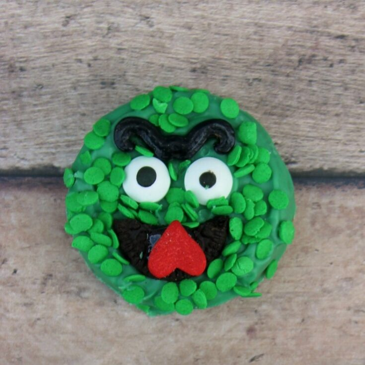 Oscar The Grouch Oreos