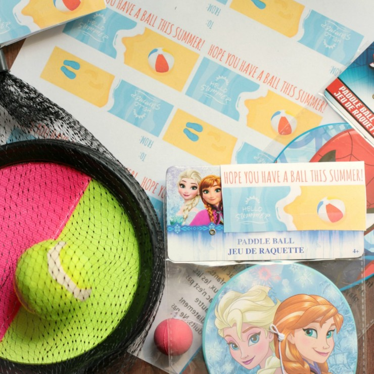Have a Ball: Last Day of School Class Gift Tags