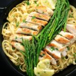 Lemon Chicken & Asparagus Pasta