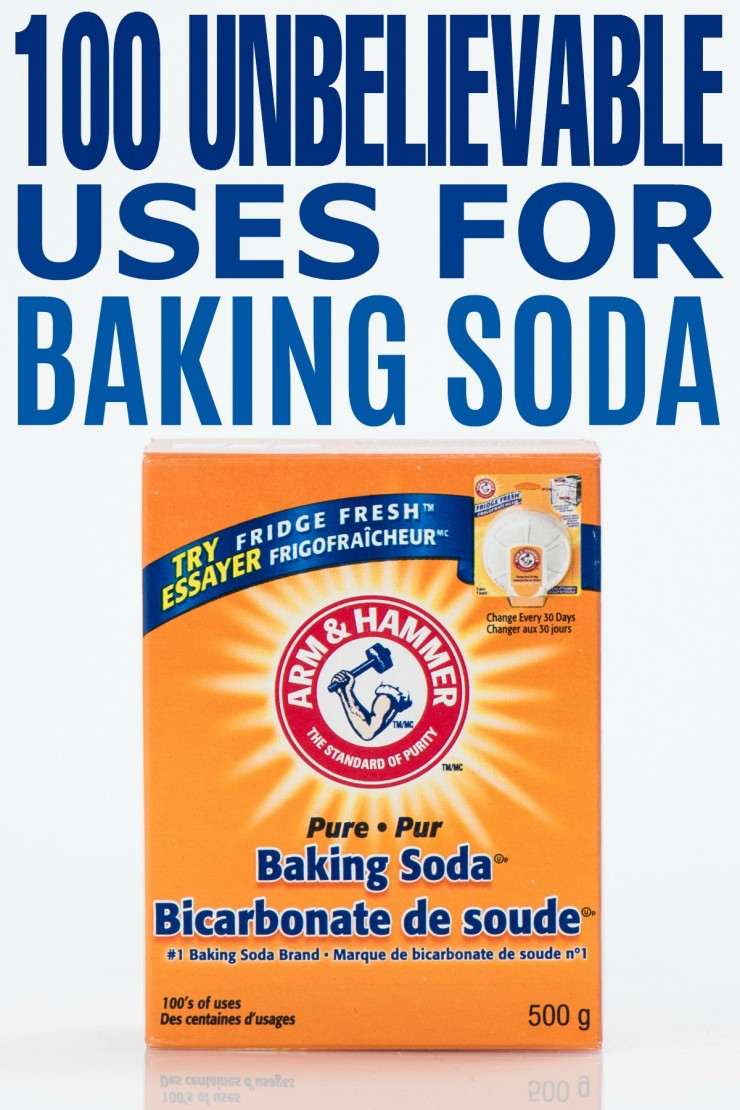 100 Unbelievable Uses for Baking Soda - Frugal Mom Eh!