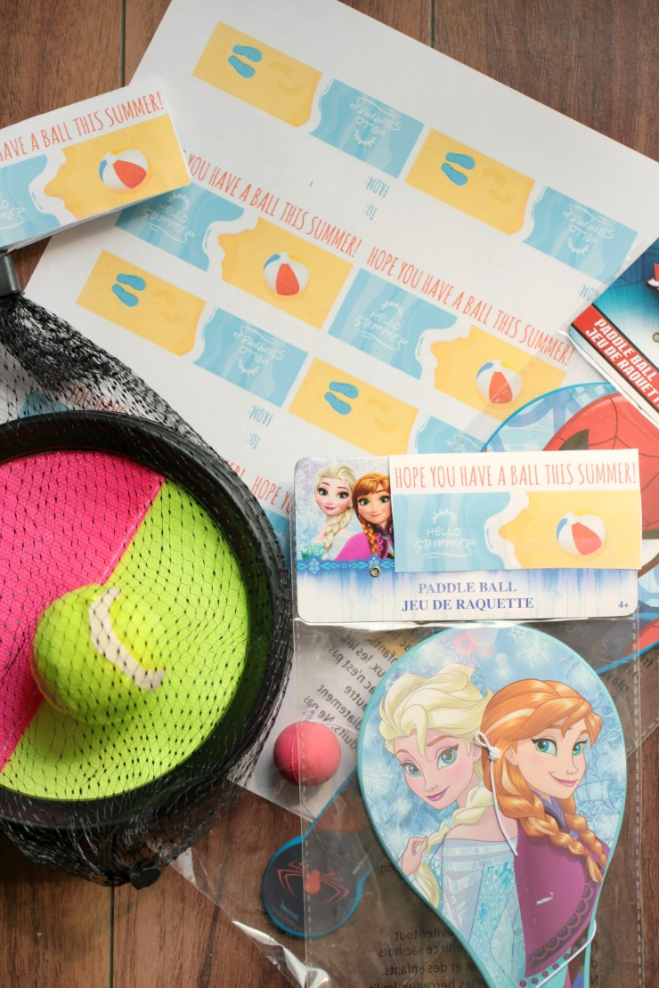 image about Have a Ball This Summer Free Printable identified as Contain a Ball: Ultimate Working day of Faculty Cl Present Tags - Frugal Mother Eh!