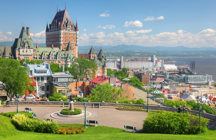 If you're looking for a great place to stop, as well as a place to learn about history, then Quebec City should definitely be on your Trans-Canada Highway itinerary. This city is home to many historical buildings and parks, as well as great places to eat.