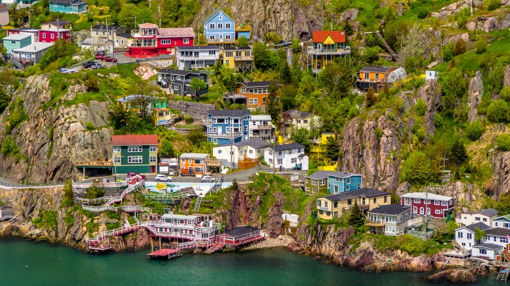 Located on the coast in Newfoundland, St. John's is a historical city along the Trans-Canada Highway that you can't miss. Be sure to stop by and experience the attractions and cuisine that make this city uniquely fun.
