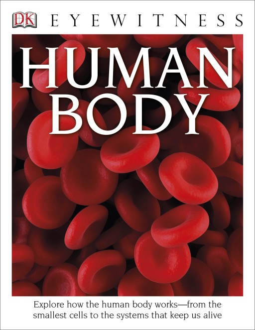 DK's Eyewitness Books: Human Body, Shark, and Natural Disasters