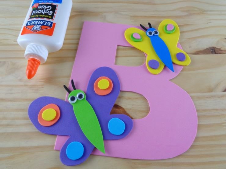 Alphabet Crafts For Kids: B Is For Butterfly