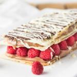 Chocolate and Raspberry Napoleon