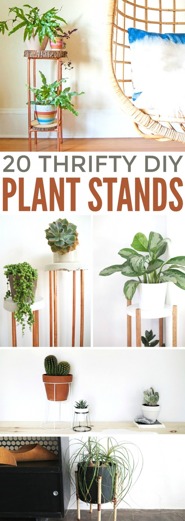 20 Thrifty Diy Plant Stands Frugal Mom Eh