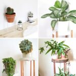 20 Thrifty DIY Plant Stands