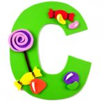 Alphabet Crafts for Kids: C is for Candy