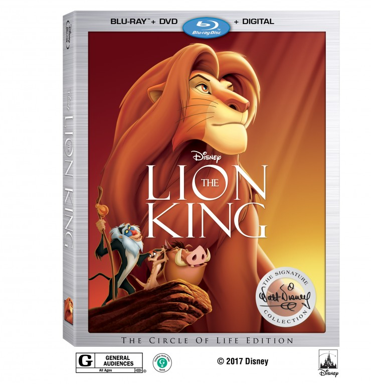 The Lion King Walt Disney Signature Collection Blu-Ray