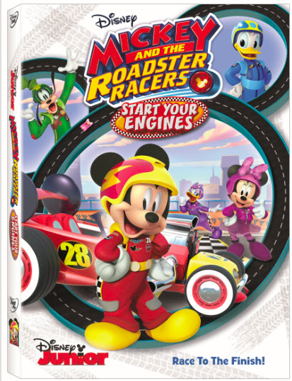 Mickey and the Roadster Racers: Start Your Engines DVD