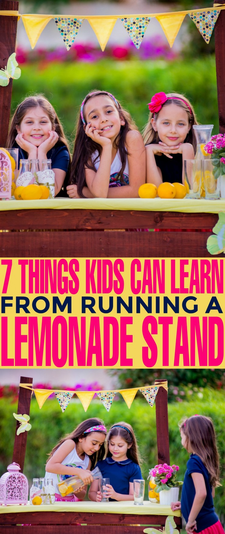 7 Things Kids Can Learn From Running a Lemonade Stand: Lemonade stands are a quintessential summer experience - an experience for kids that is not only fun but can teach them valuable life skills and give them their first taste at entrepreneurship.