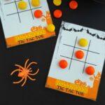 Free Printable Halloween Tic Tac Toe Cards