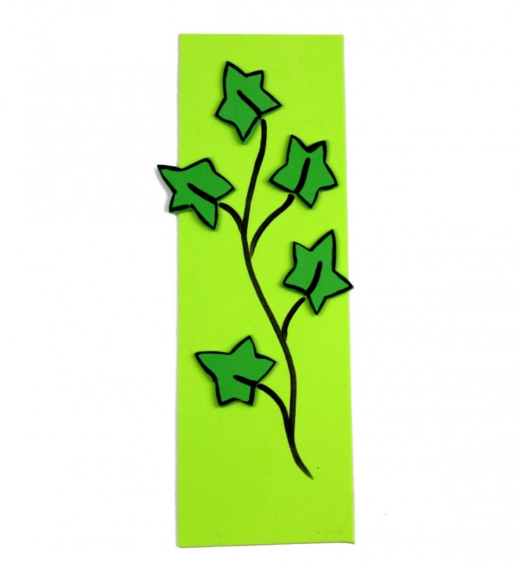 Alphabet Crafts for Kids: I is for Ivy