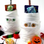 Mummy Halloween Treat Cups