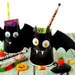 Bat Halloween Treat Cups
