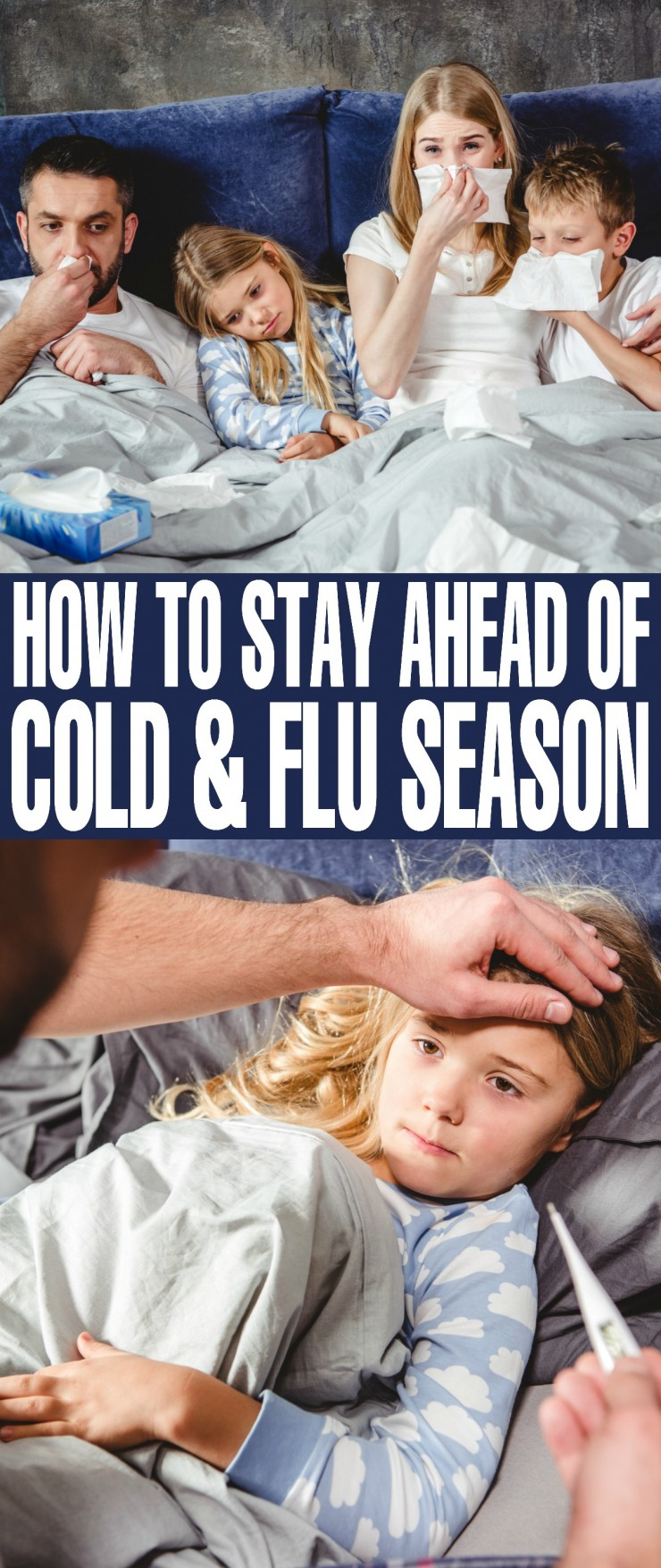 Sweater weather, sore throats and runny noses can only mean one thing – the start of cold and flu season! Luckily, there are easy ways to protect you and your family, and with the proper care and a lot of TLC you can say goodbye to cold and flu symptoms in as little as three days. By taking these preventative steps, you'll fight every flu season with confidence.