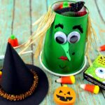 Witch Halloween Treat Cups
