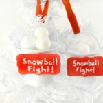 Snowball Fight Ornament