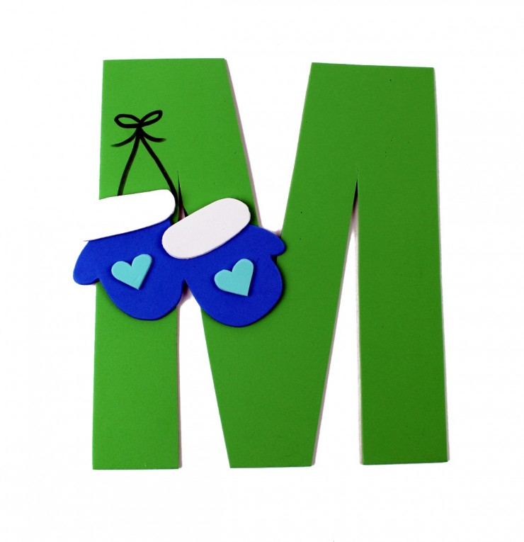 Alphabet Crafts for Kids: M is for Mittens
