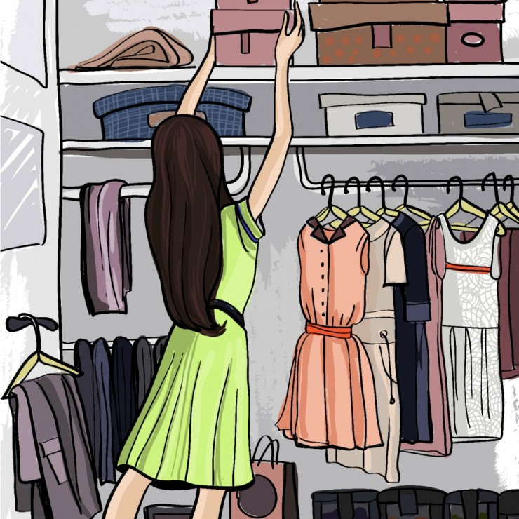 How to Organize your Walk-in Closet on a Budget