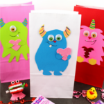 Valentine's Day Monster Treat Bags