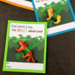 Wild Animals Valentine's Day Card