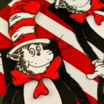 The Cat in the Hat Paper Bag Puppet