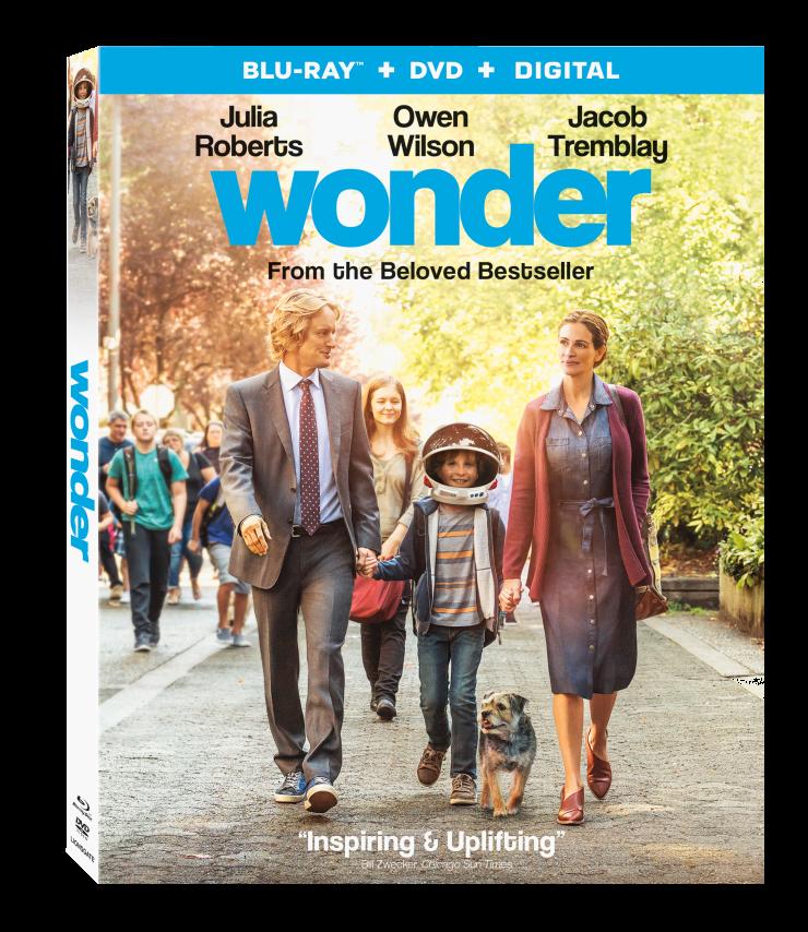 Wonder Blu-ray Combo Pack