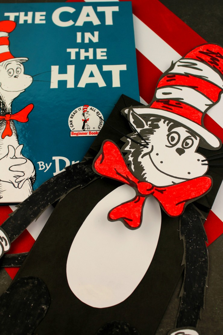The Cat In The Hat Paper Bag Puppet Frugal Mom Eh