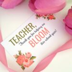 Teacher Thank You Gift Tag Printable