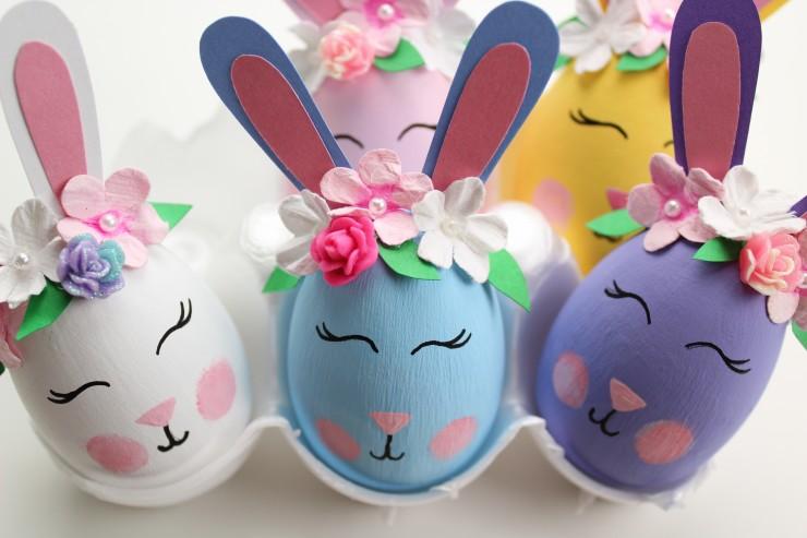 pisanki króliki
