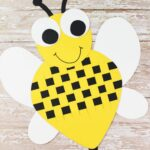 Paper Weave Bumble Bee