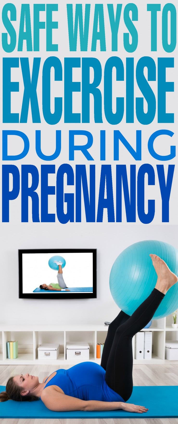 If you want to stay healthy and feel your best throughout your pregnancy, you have to maintain a regular exercise routine. Learn safe ways to excercise during pregnancy now!