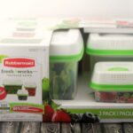 Keep Produce Fresh Longer with Rubbermaid FreshWorks Produce Savers