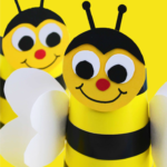 Bumble Bee Cup Craft