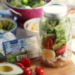 Cobb Salad in a Jar + Burnbrae Farms Giveaway