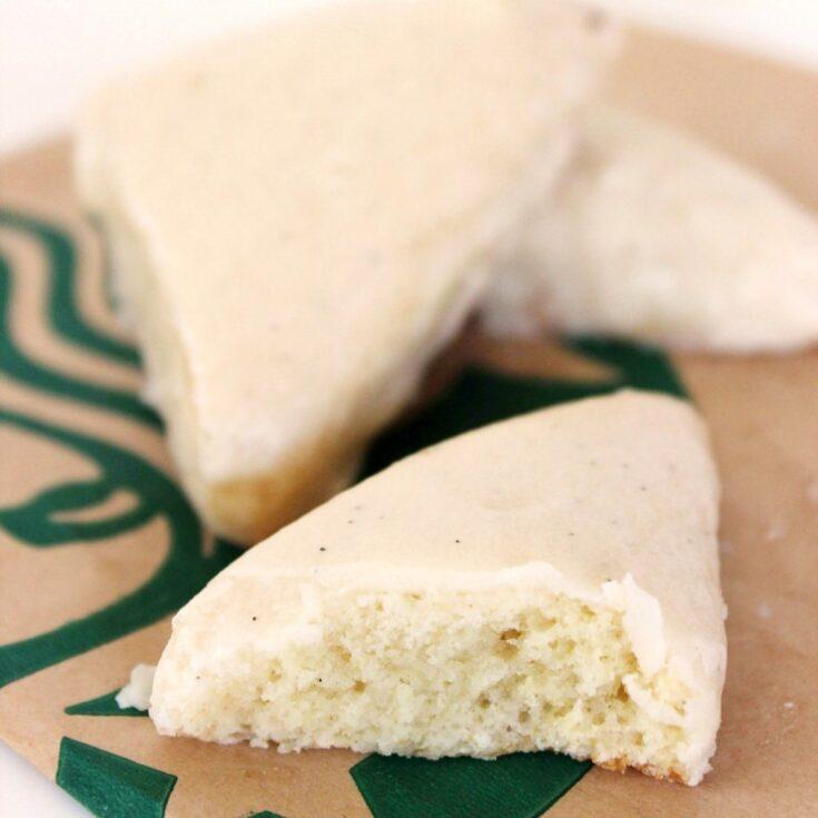 Starbuck's Copycat Petite Vanilla Bean Scones