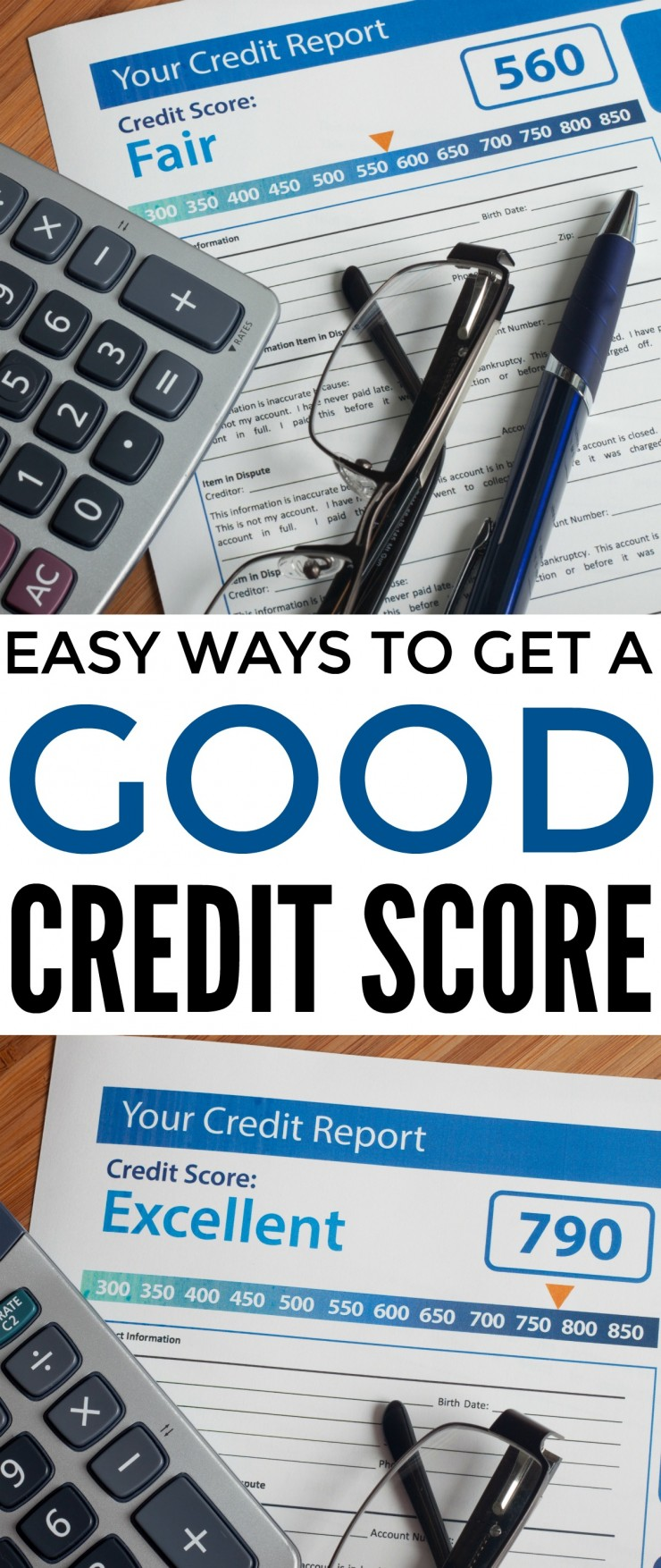 There are many ways to raise your credit score and therefore improve your chances of being approved when you apply for credit. Check out these easy ways to get a good credit score.