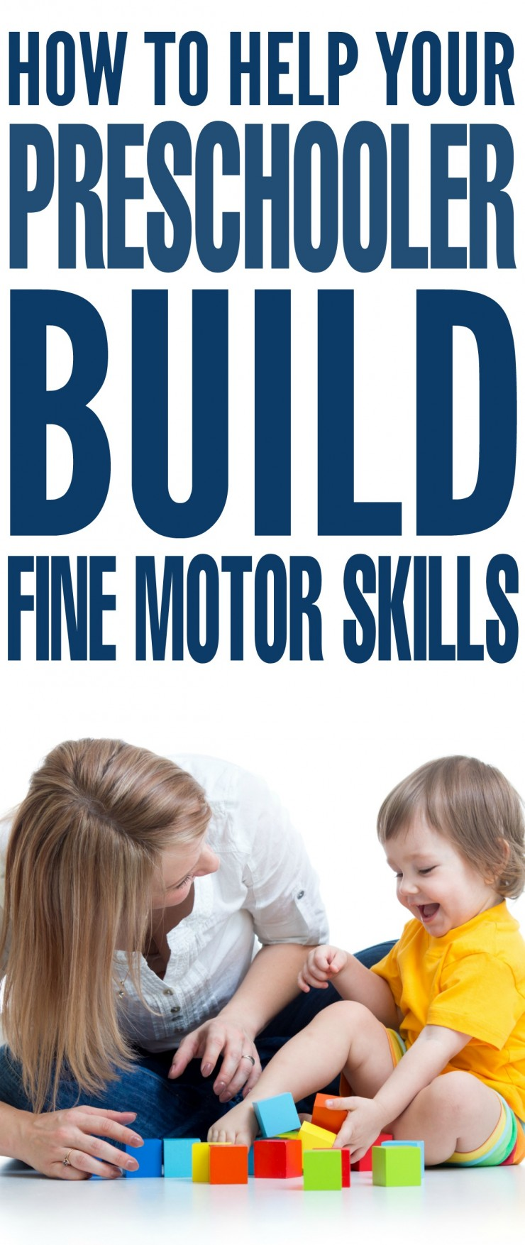 How to Help your Preschooler Build Fine Motor Skills
