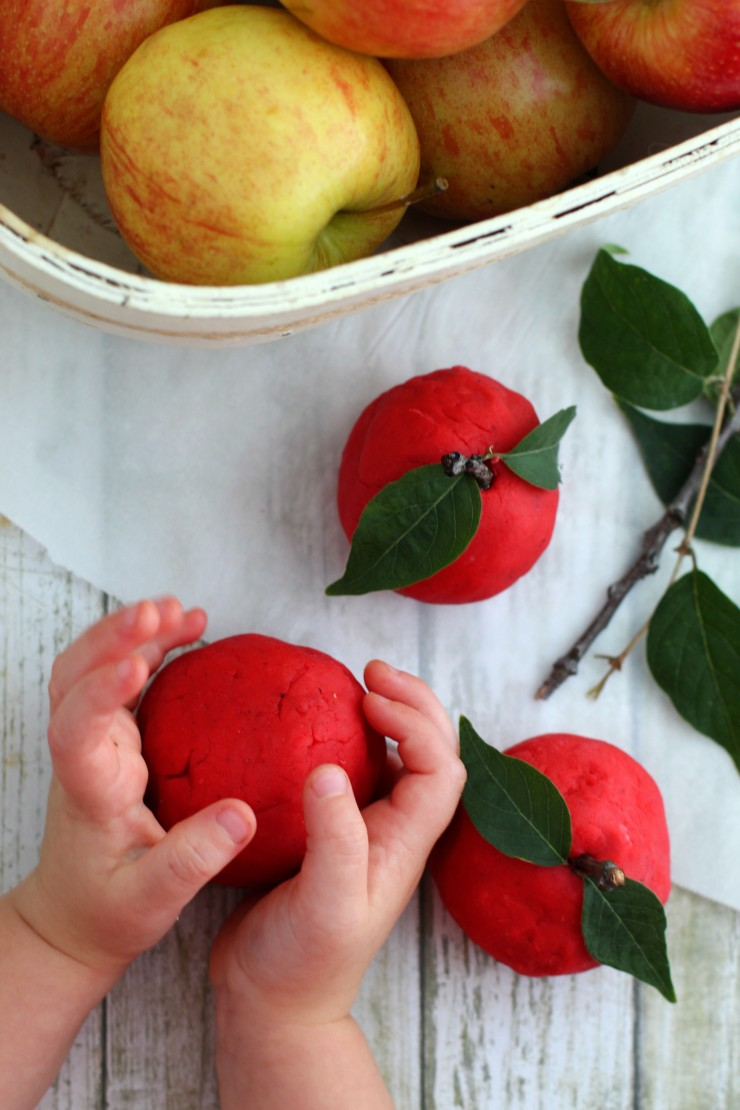 Apple Spice Play Dough